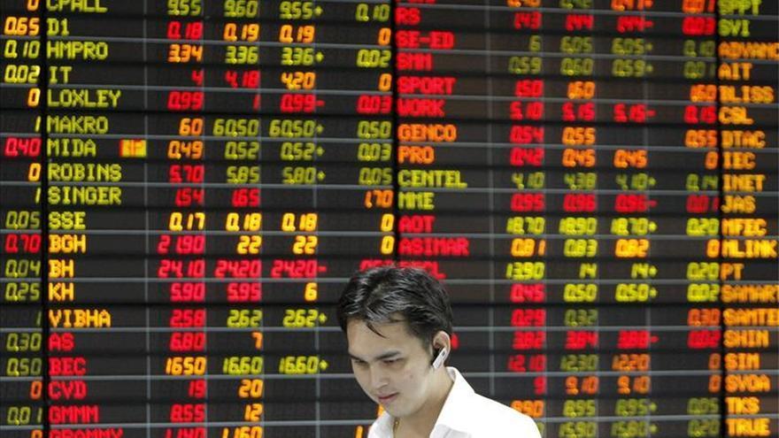 Las bolsas del sudeste asiático abren al alza, salvo Malasia