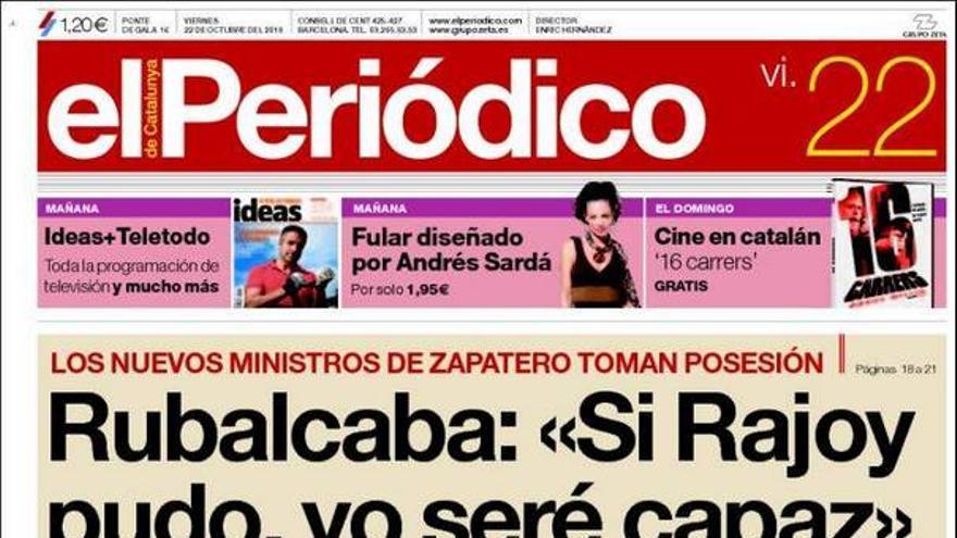 De las portadas del día (22/10/2010) #8