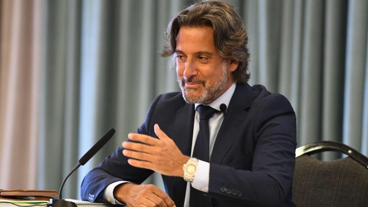 Gustavo Matos, durante la conferencia