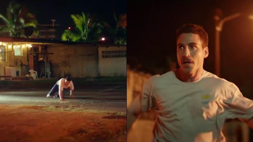 Miguel Ángel Silvestre en una secuencia de 'En el corredor de la muerta'