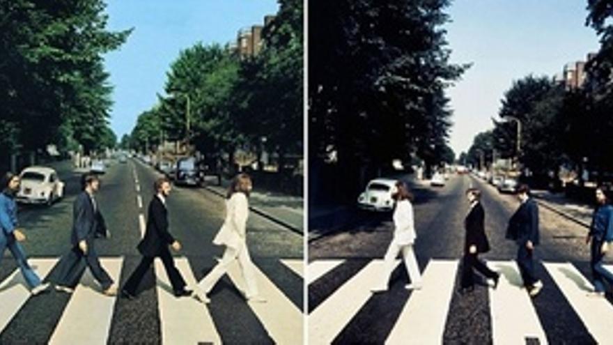 Fotografías de los Beatles en Abbey Road