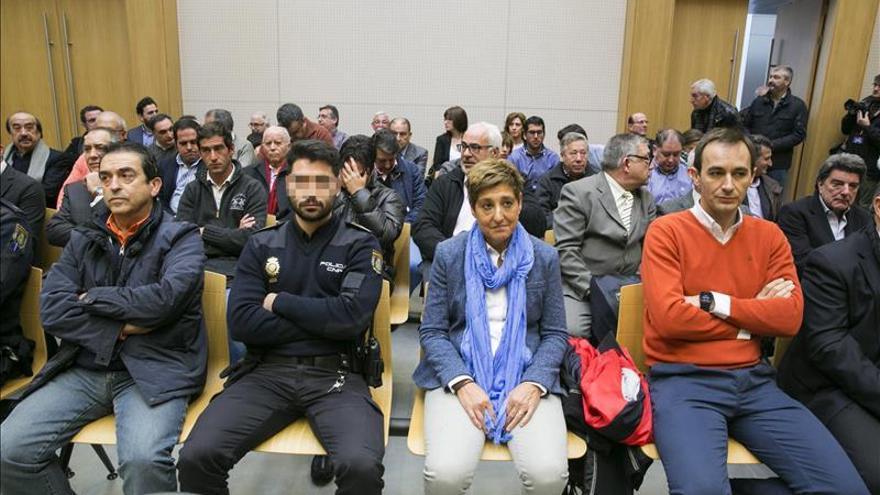 La exalcaldesa de La Muela (Zaragoza) se declara inocente tras el primer día de juicio