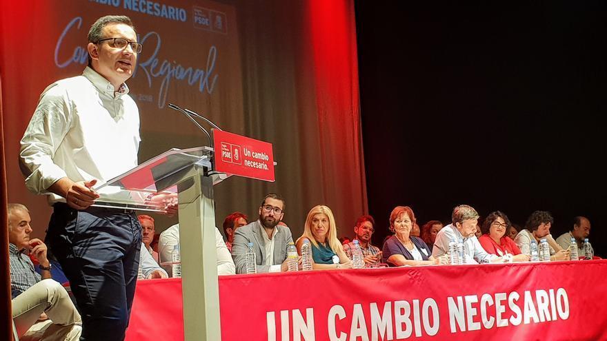 """Conesa reúne a los socialistas y avisa:""""Somos la alternativa real de Gobierno para 2019"""""""