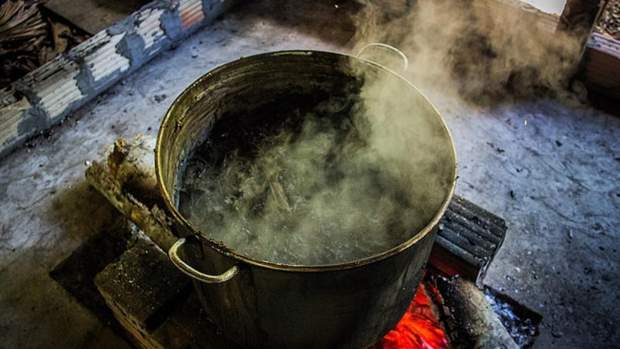 La ayahuasca es una especia de te que se obtiene mediante dos plantas: ayahuasca y chacruna
