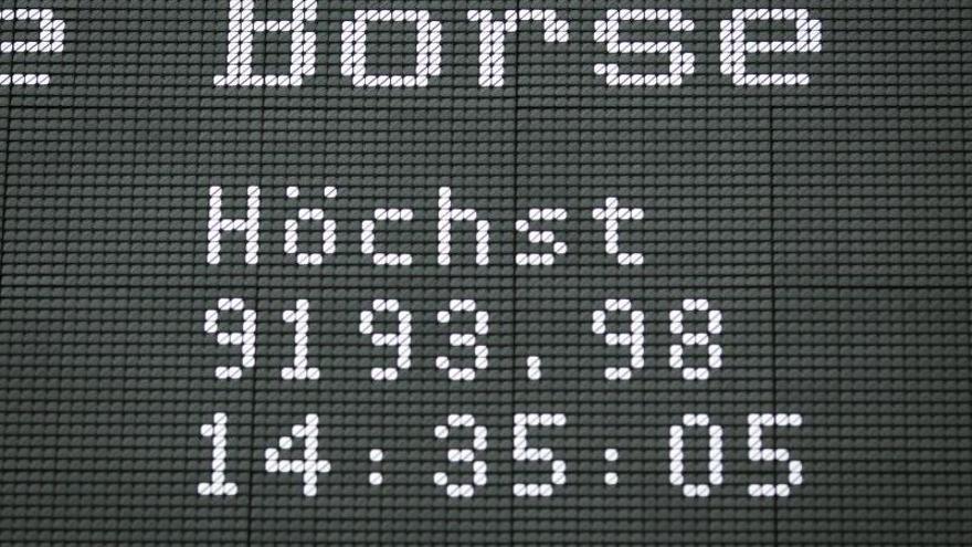 El DAX 30 alemán sube un 0,23 por ciento, hasta los 9.653,53 puntos
