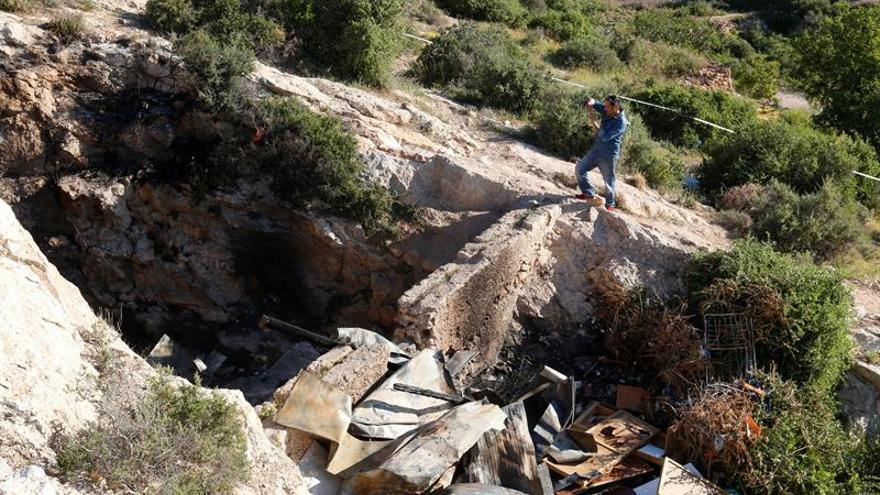 Funerales en Almería por los tres fallecidos en el incendio de una cueva