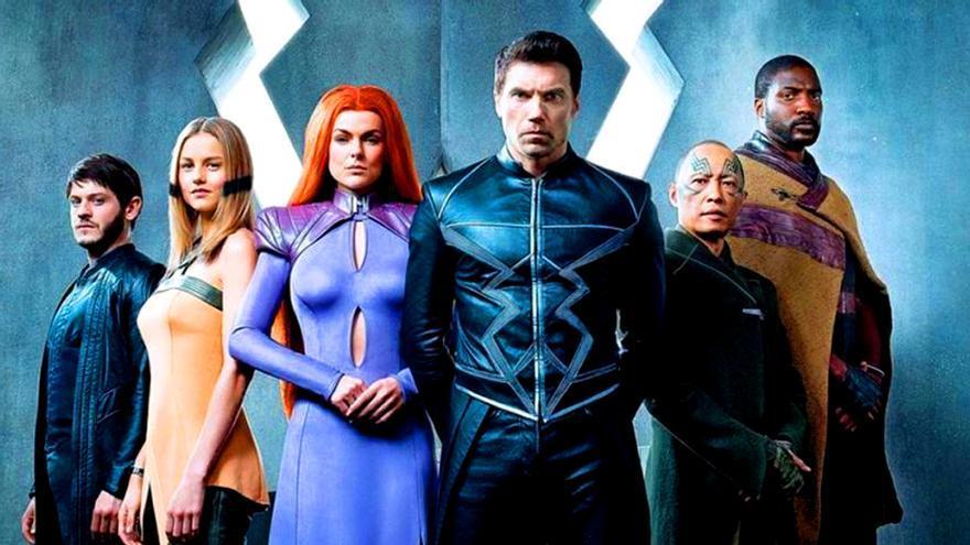 Los Inhumanos de Marvel