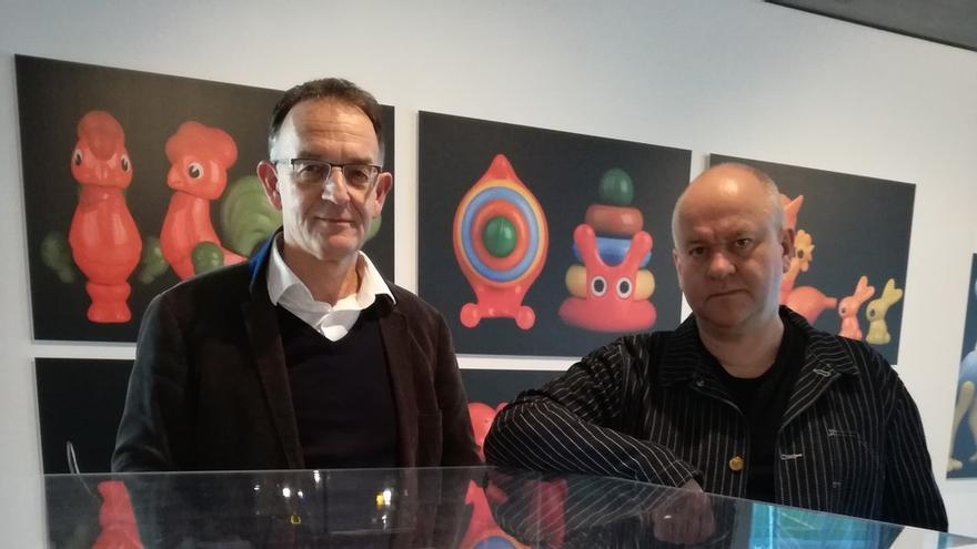 Los coleccionistas Sebastian Kîpcke y Volker Weinhold