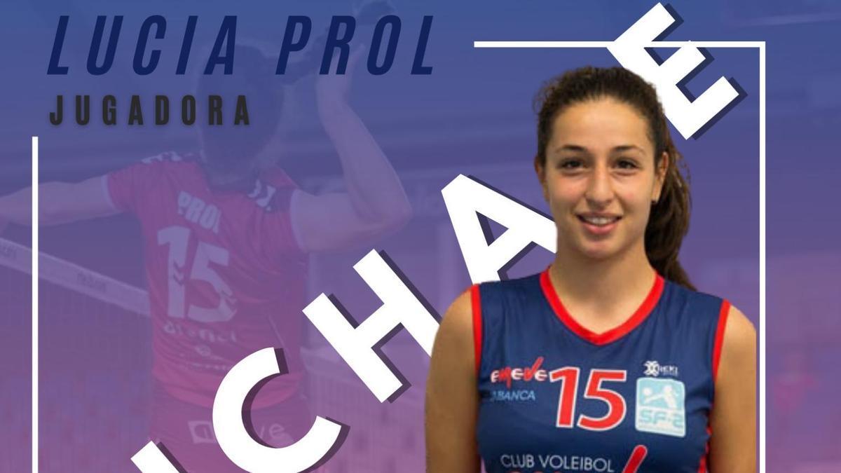 Lucía Prol, nueva jugadora del Sanaya Libbys La Laguna