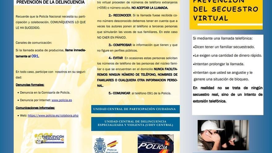 """Detectados en Cantabria posibles """"secuestros virtuales"""" desde teléfonos con el prefijo internacional 0056"""