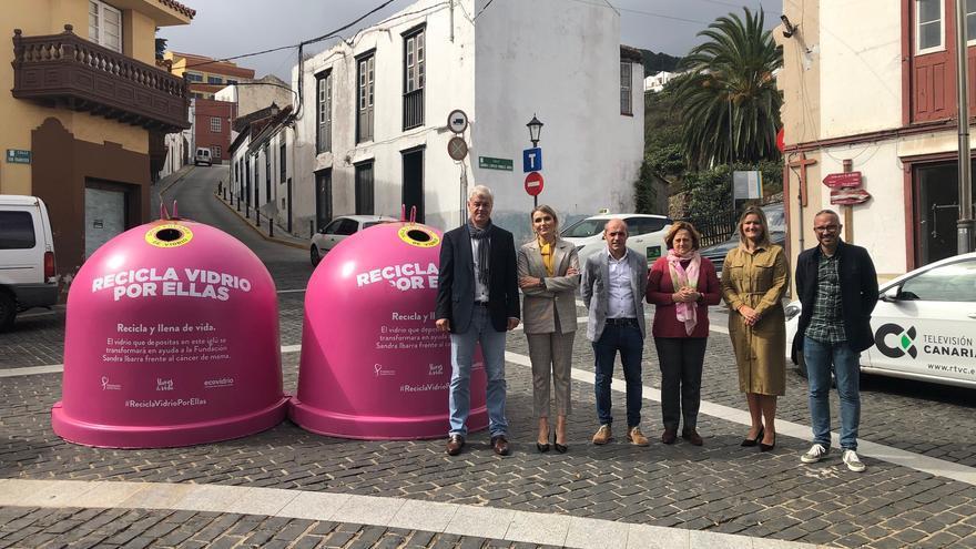Campaña Ecovidrio cáncer de mama