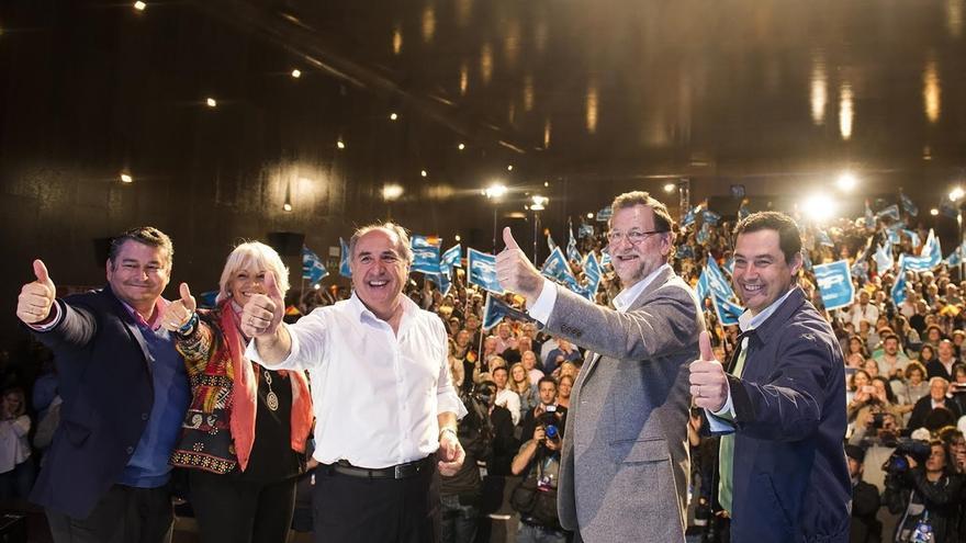 """Rajoy reta a sus rivales a """"asumir ante los españoles que dejarán gobernar a la lista más votada"""
