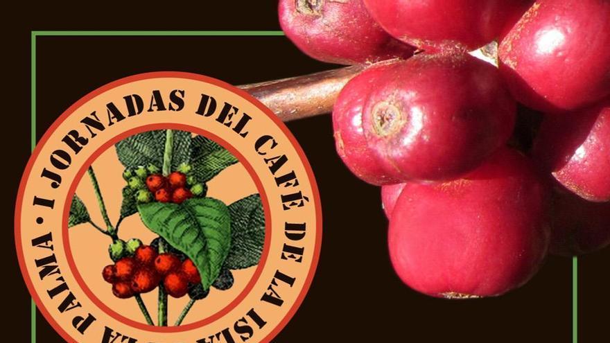 Cartel de las 'Primeras Jornadas del Café de la Isla de La Palma'.