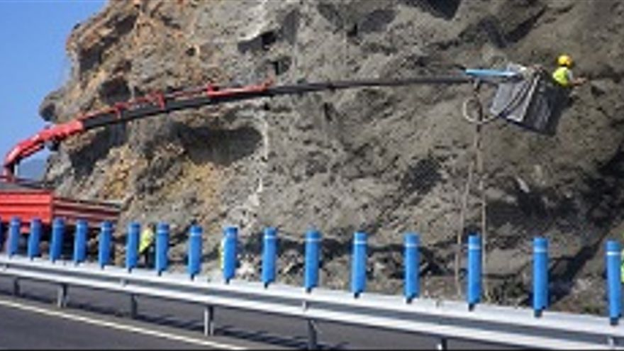 Infraestructura mejora las Curvas de San Juanito