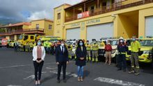 Presentación de la campaña contra incendios  del Cabildo de La Palma.