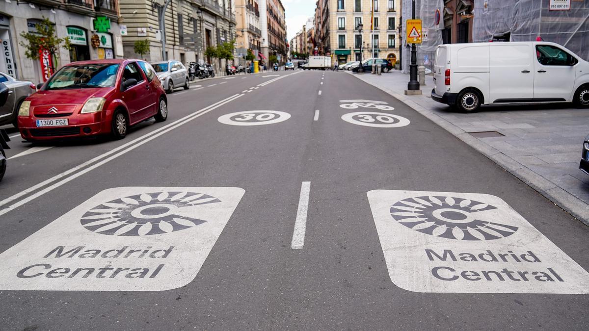Madrid Central en una imagen de archivo.