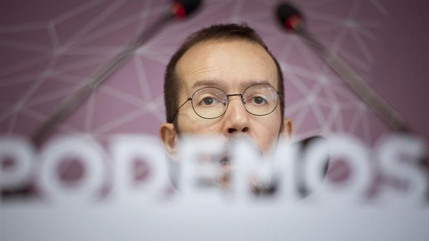 "Echenique llama a la unidad Podem-comunes por ser ""indispensable"" para ganar"