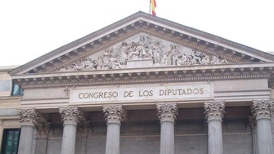 Congreso diputados fachada
