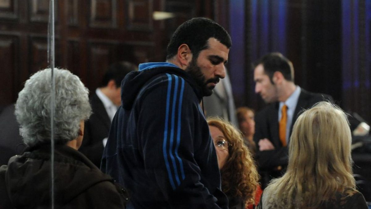 Maximiliano Djerfy en el juicio por Cromañón
