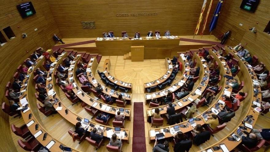 Seis formaciones políticas conformarán la X legislatura de Les Corts Valencianes