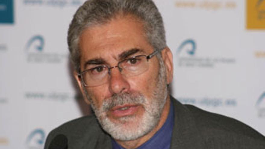 José Regidor, rector de la ULPGC.