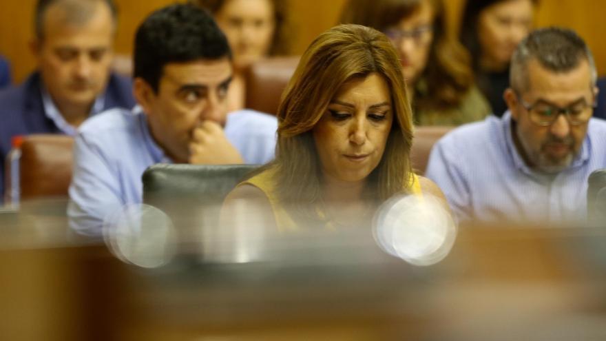 Susana Díaz propone que el Parlamento elija en septiembre un comisionado para la Memoria sin mencionar a Valderas