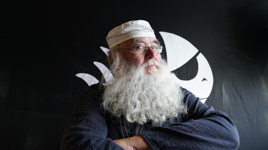 Rüdiger Weida, fundador de la Iglesia del mosntruo Espagueti Volador en Alemania y creador del primer templo pastafari