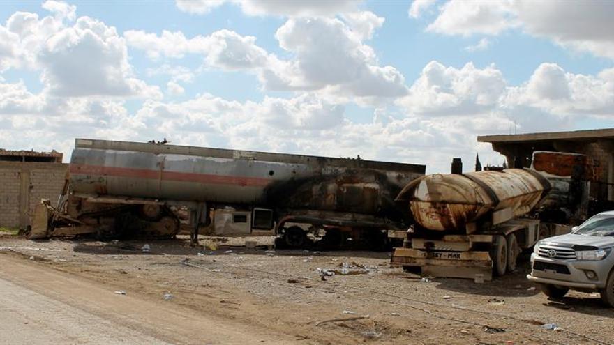 """EE.UU. anuncia que el """"califato"""" del Estado Islámico ha sido eliminado en Siria"""