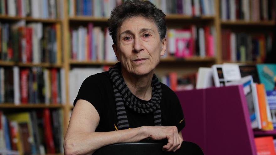 La escritora y activista feminista Silvia Federici. / Marta Jara