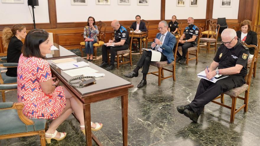 Reunión de la Junta Local de Seguridad. | AYUNTAMIENTO DE SANTANDER