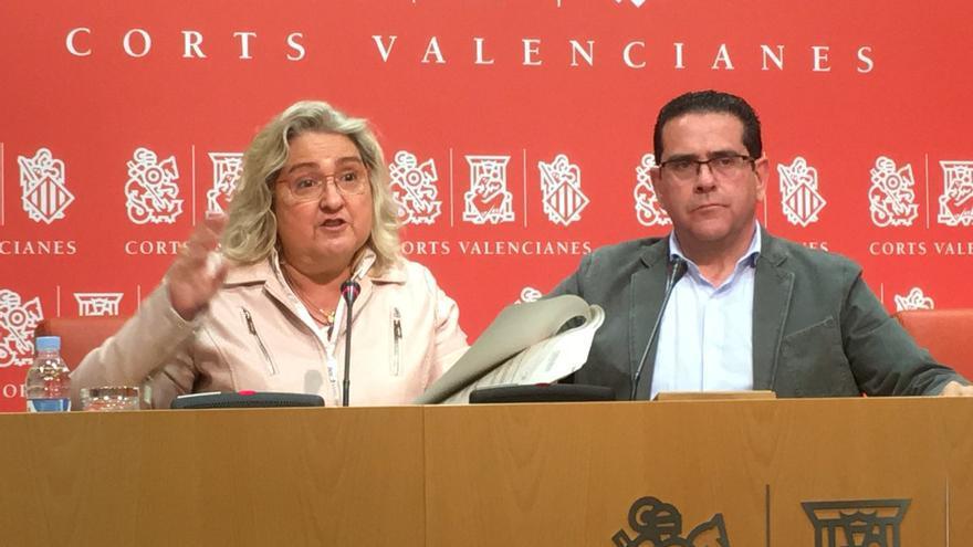 María José Ferrer-Sansegundo y Jorge Bellver, durante la rueda de prensa