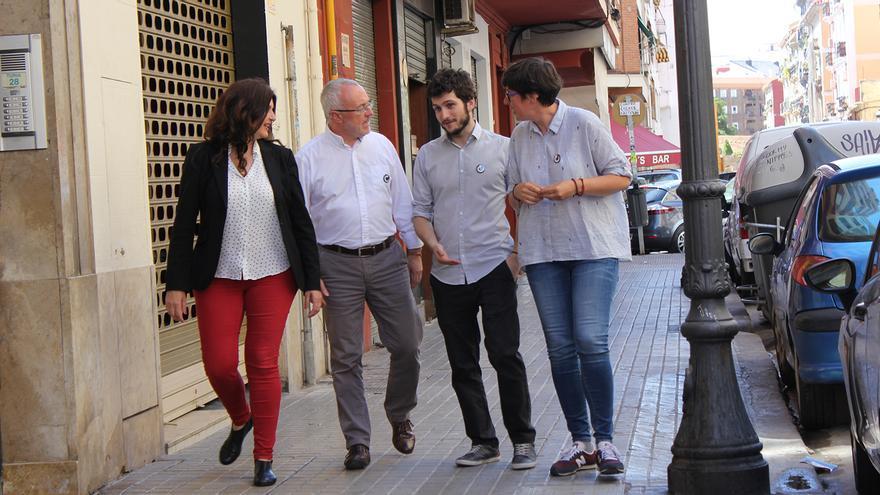 Fabiola Meco, Antonio Montiel, Antonio Estañ y Pilar Lima