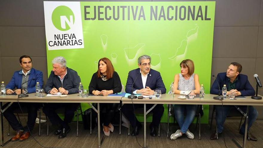 Ejecutiva nacional de Nueva Canarias.