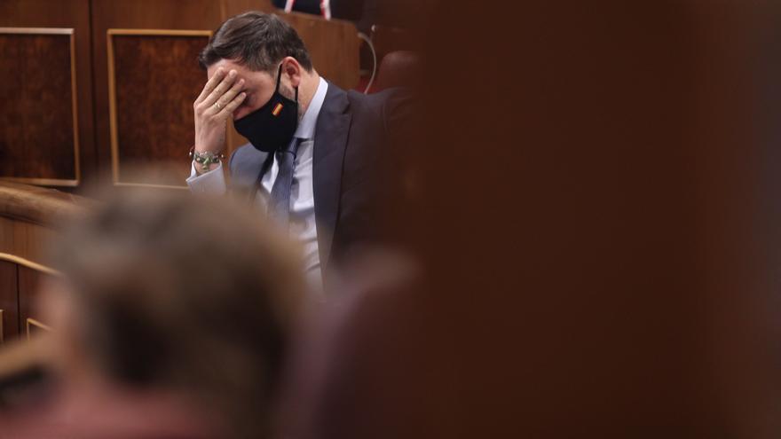 El Congreso teje un cordón sanitario frente a la extrema derecha y Abascal no suma un solo voto fuera de Vox
