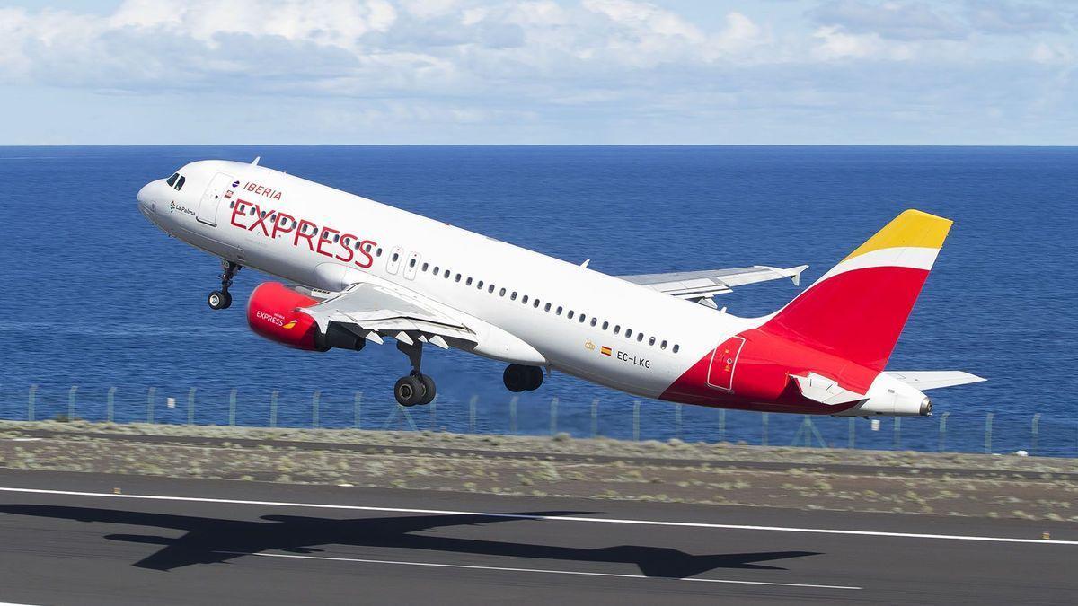 Un avión de Iberia Express. Iberia Express