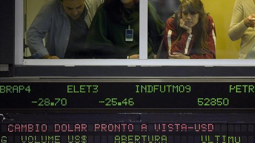 La bolsa de Sao Paulo abre con una subida del 0,46 por ciento