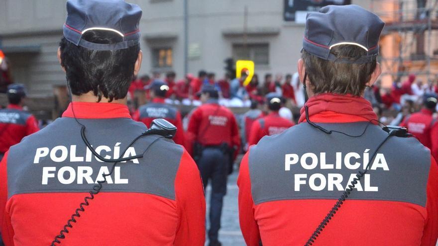 Policía Foral detiene a cuatro personas en el primer día de los Sanfermines