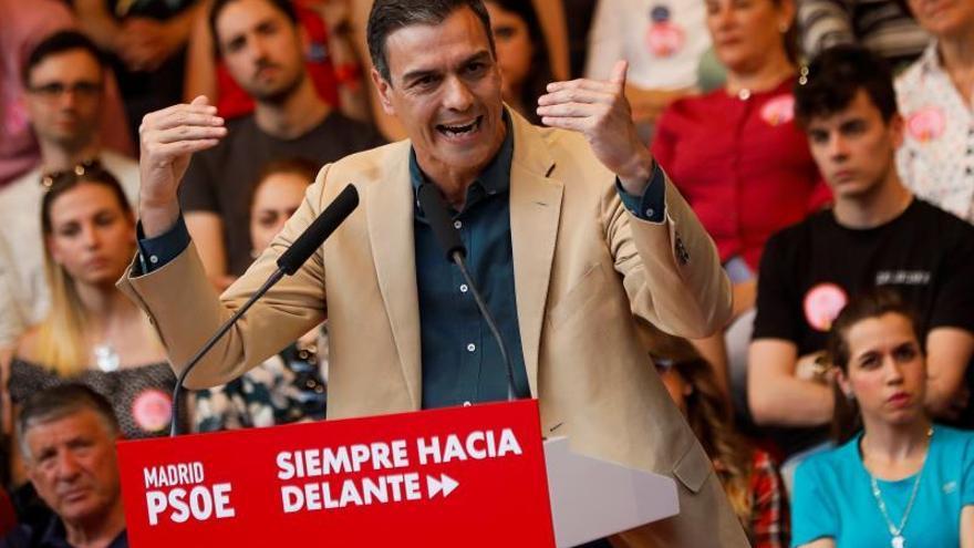 Sánchez avisa a los suyos de que al PSOE no le conviene mirar hacia los lados