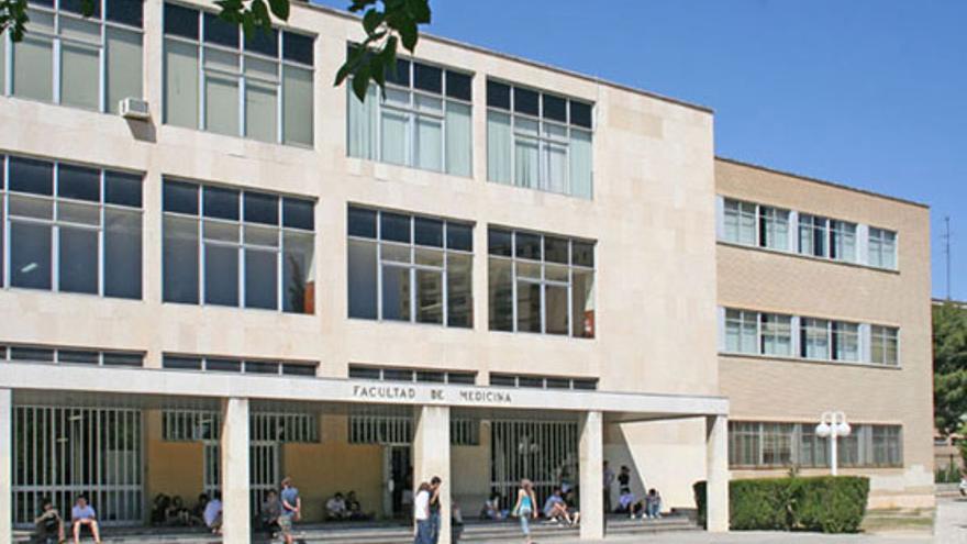 Facultad de Medicina de la Universidad de Zaragoza.