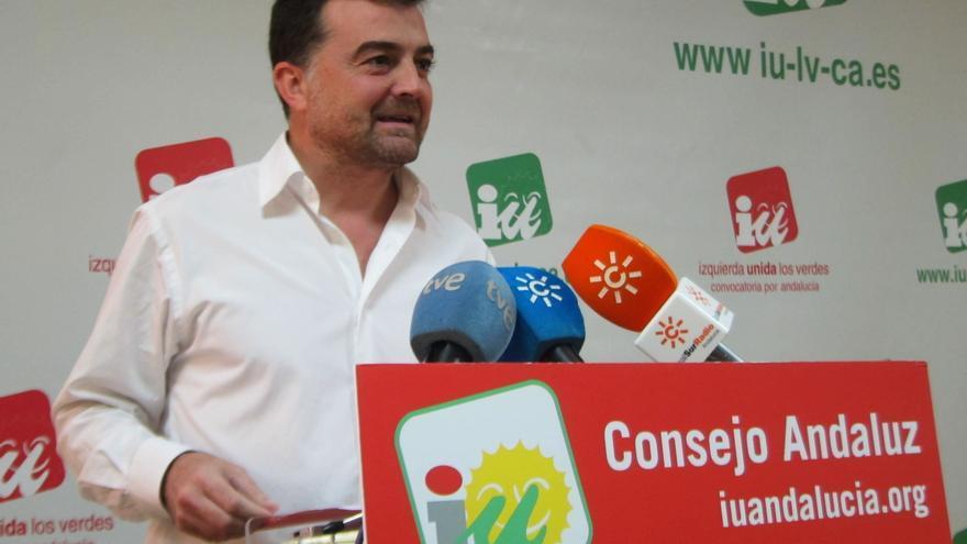 """IULV-CA niega un acuerdo en el gobierno andaluz para la compra del BEF y  planteará """"reservas"""" sobre dicha operación"""