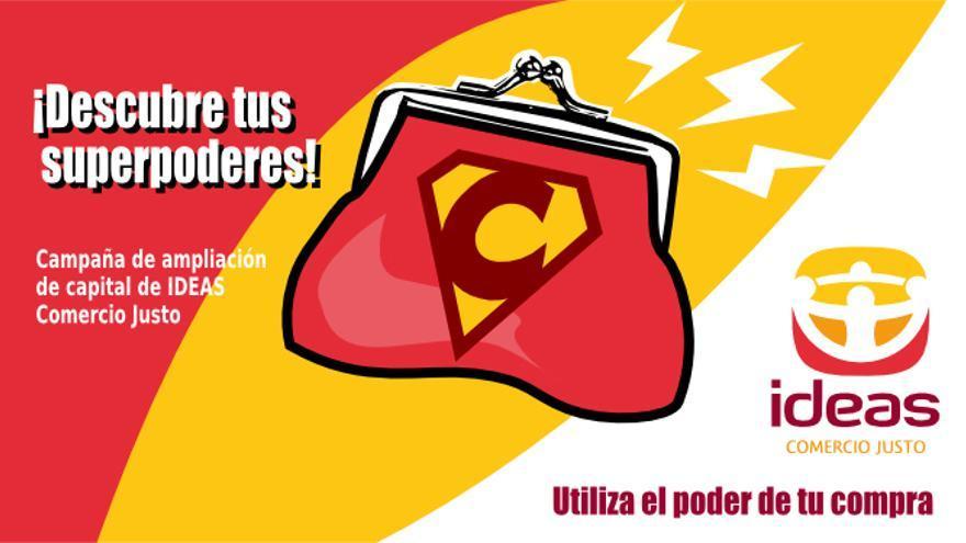 Imagen de la campaña de captación de consumidores responsables de IDEAS.