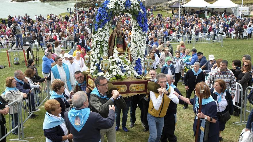 La Virgen del Mar y Santiago, fiestas locales de Santander en 2020