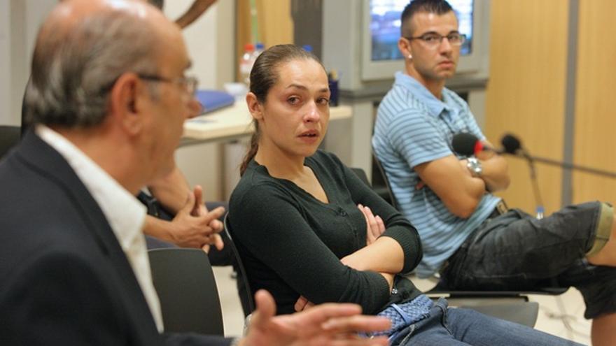 La madre de Yunaisi, durante el juicio. (ACFI PRESS)