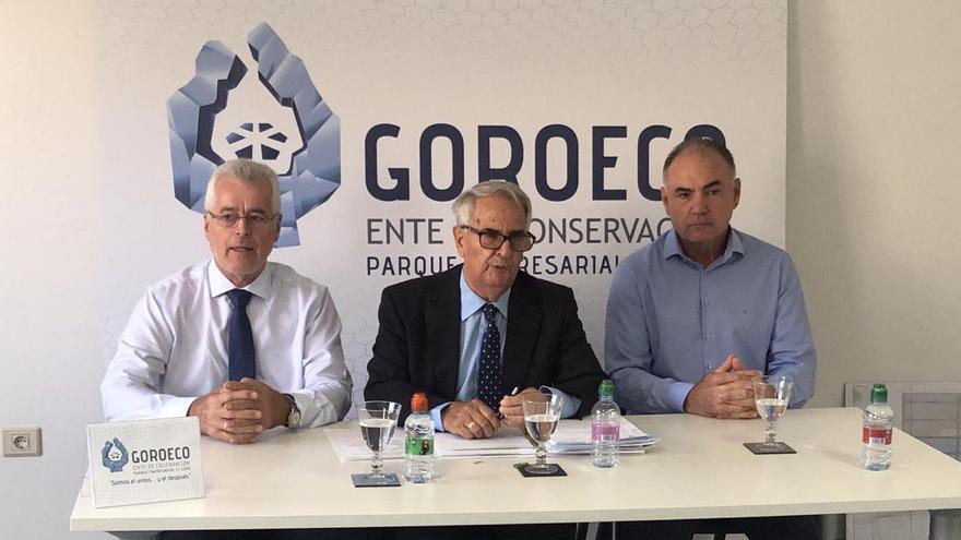 """Rueda de prensa ofrecida por Goroeco para denunciar la """"actitud"""" del Ayuntamiento de Telde"""