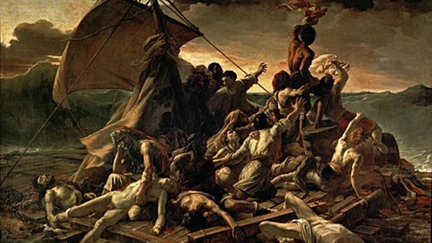 Balsa de Medusa, de Delacroix.