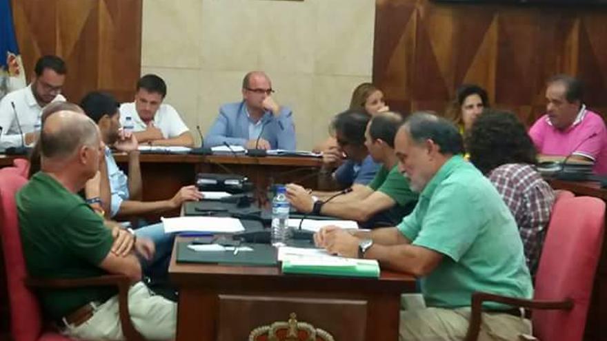 Reunión de la Mesa Insular de la Energía de La Palma.
