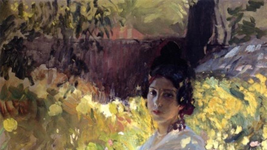 María Vestida De Labradora Valenciana, De Sorolla