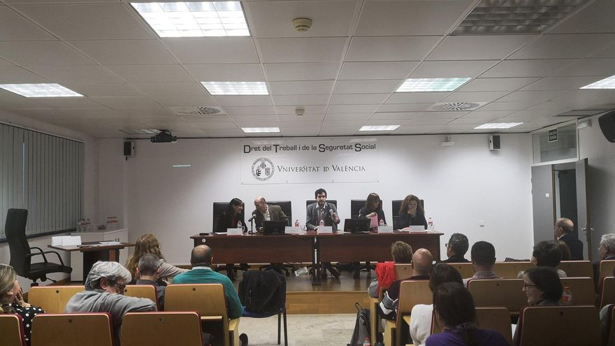 Imagen de la jornada celebrada en la Universitat de València