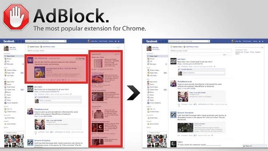 Adblock Plus es la herramienta gratuita de Google Chrome para erradicar la publicidad