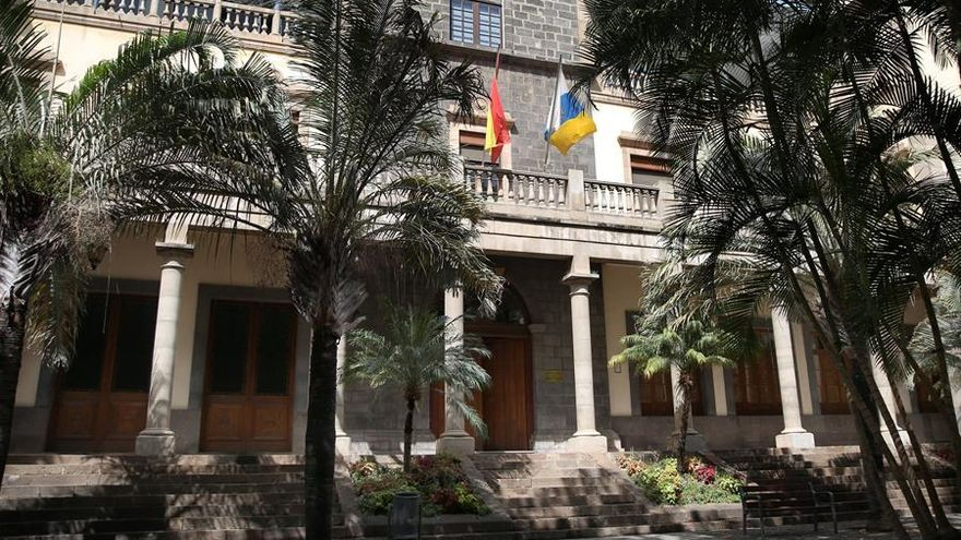 Sede del TSJC en Santa Cruz de Tenerife